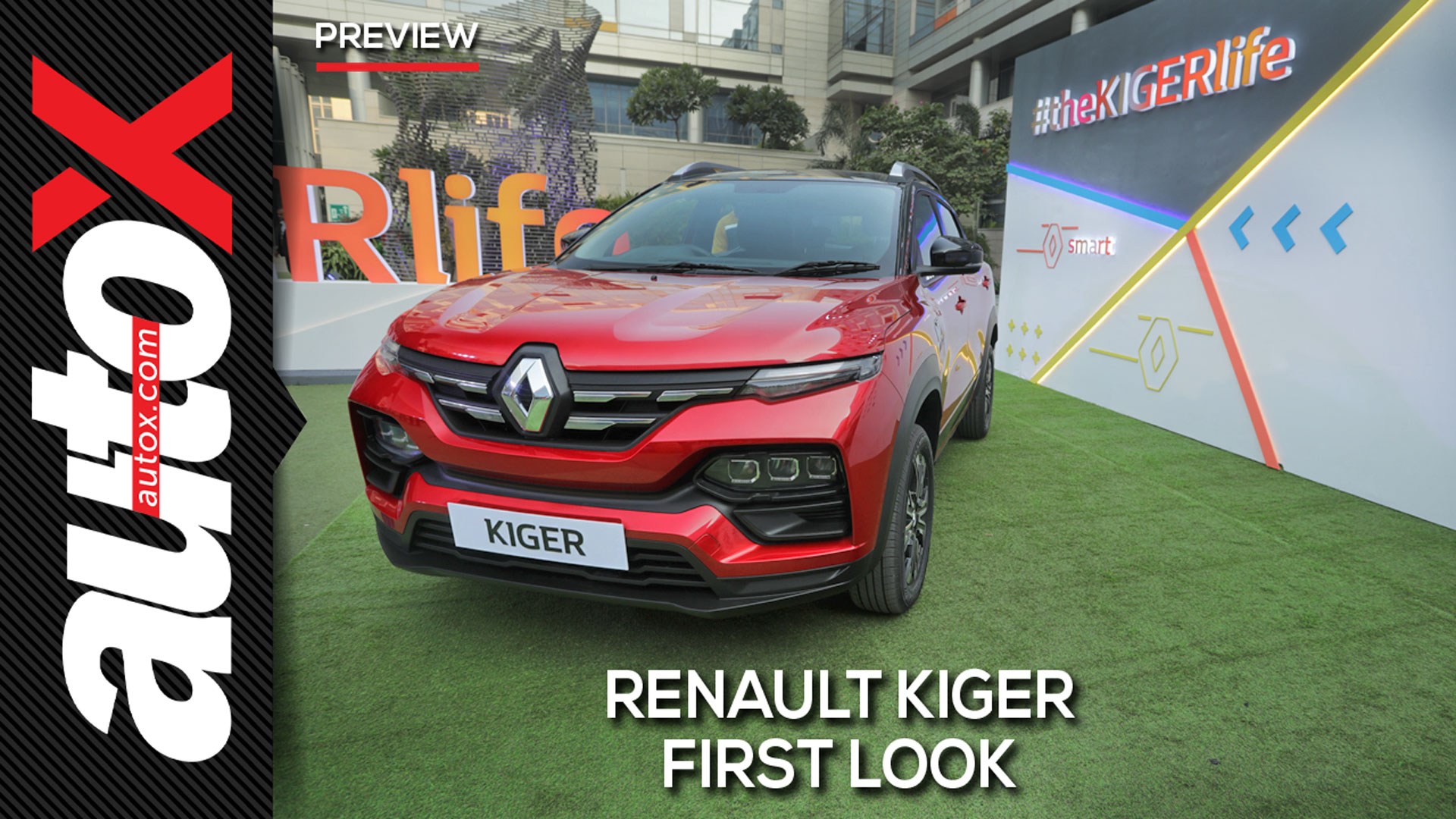Renault Kiger SUV   Preview   autoX
