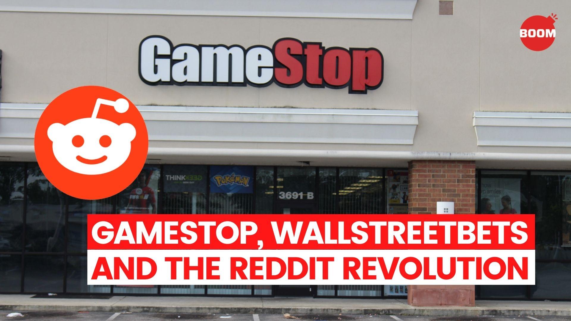 GameStop, WallStreetBets And The Reddit Revolution | BOOM
