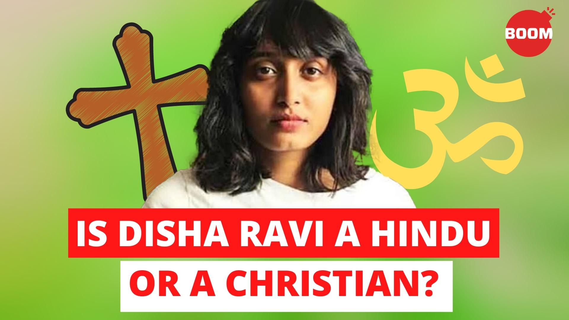 Is Disha Ravi A Hindu Or A Christian? | BOOM | Fridays For Future