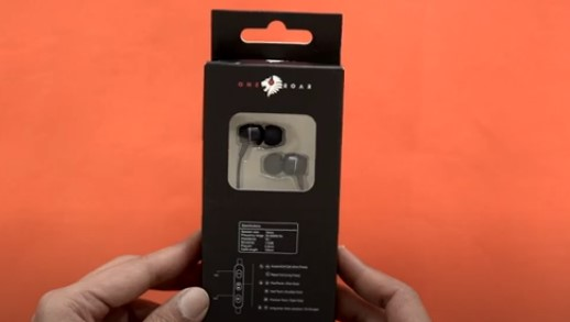 One Roar Den 200 in ear metallic wired earphones unboxing