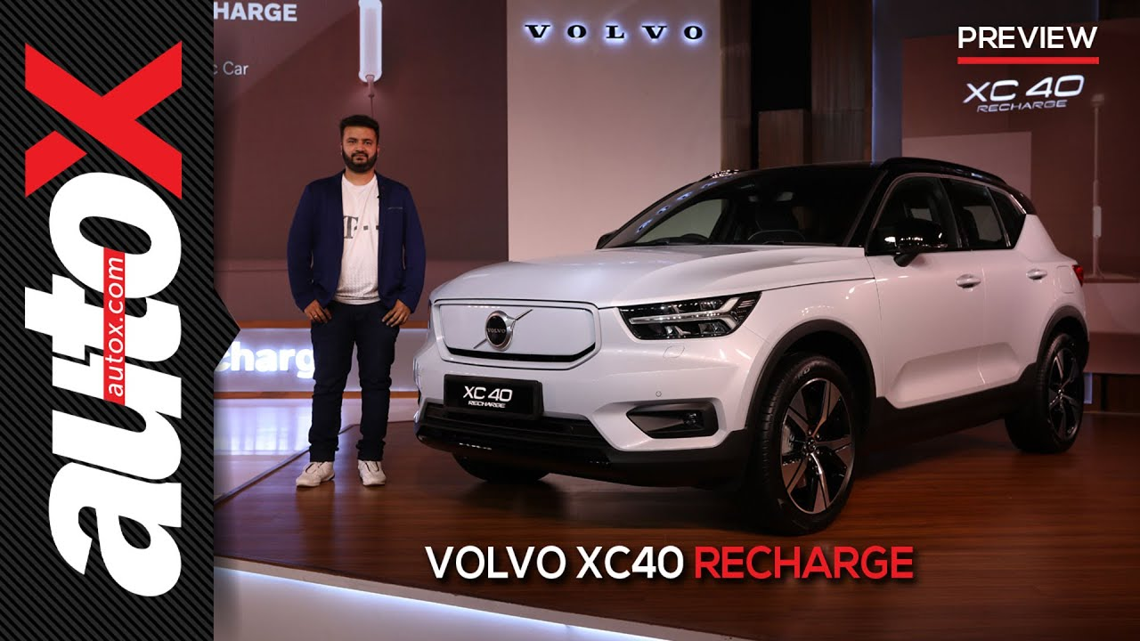Volvo XC40 Recharge – Volvo's first-ever EV now in India | Preview | autoX
