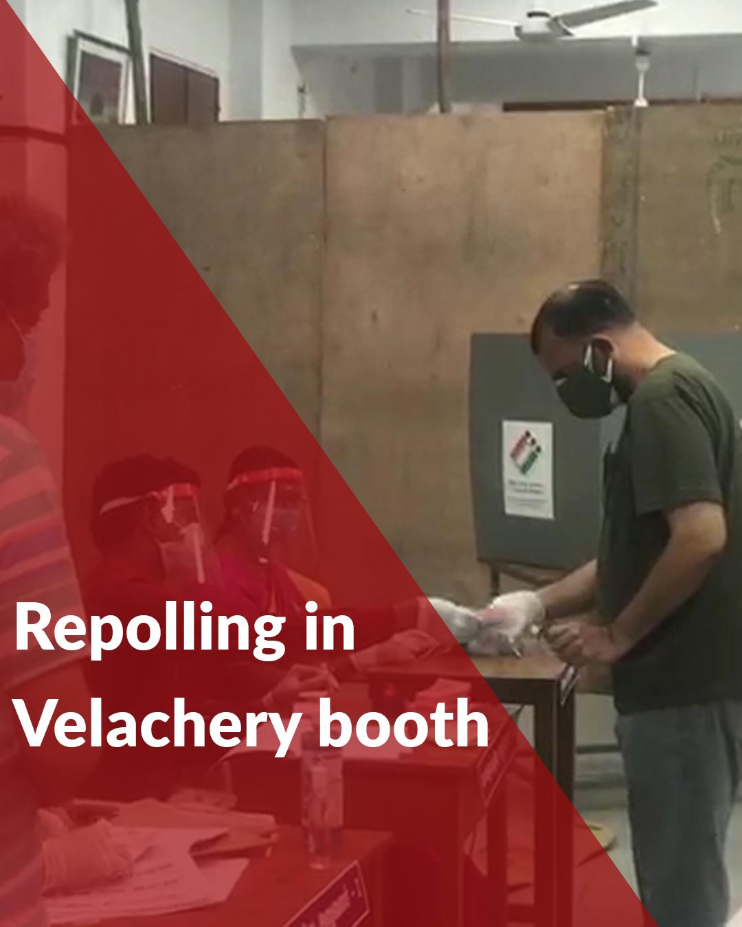 EC orders repolling in Tamil Nadu's Velachery booth on Apr 17