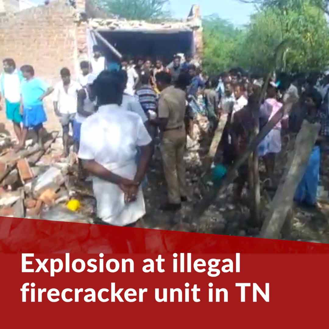 Two die in TN after explosion at illegal firecracker unit