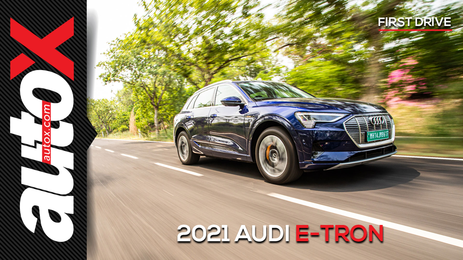 2021 Audi e-tron: A bolt from the blue   Review   autoX