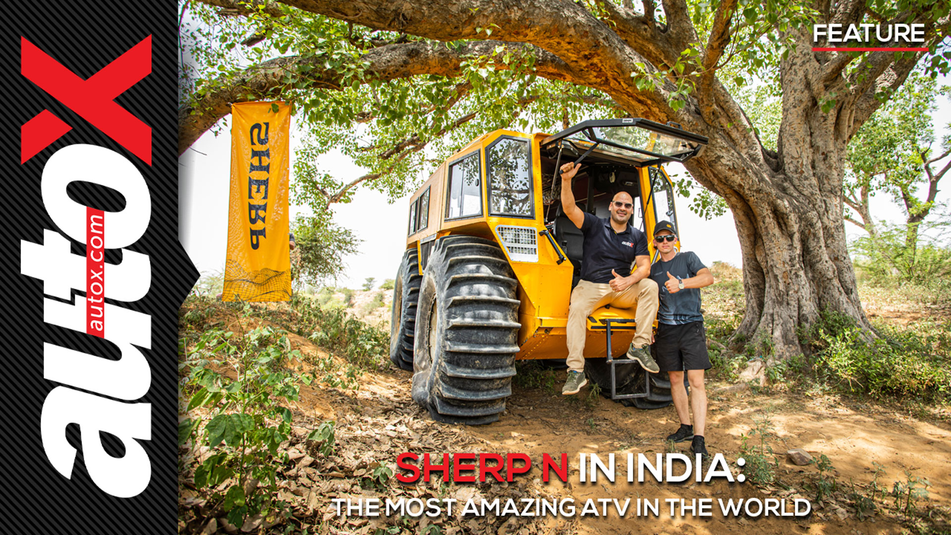 SHERP N in India: The most amazing ATV in the World   Feature   autoX
