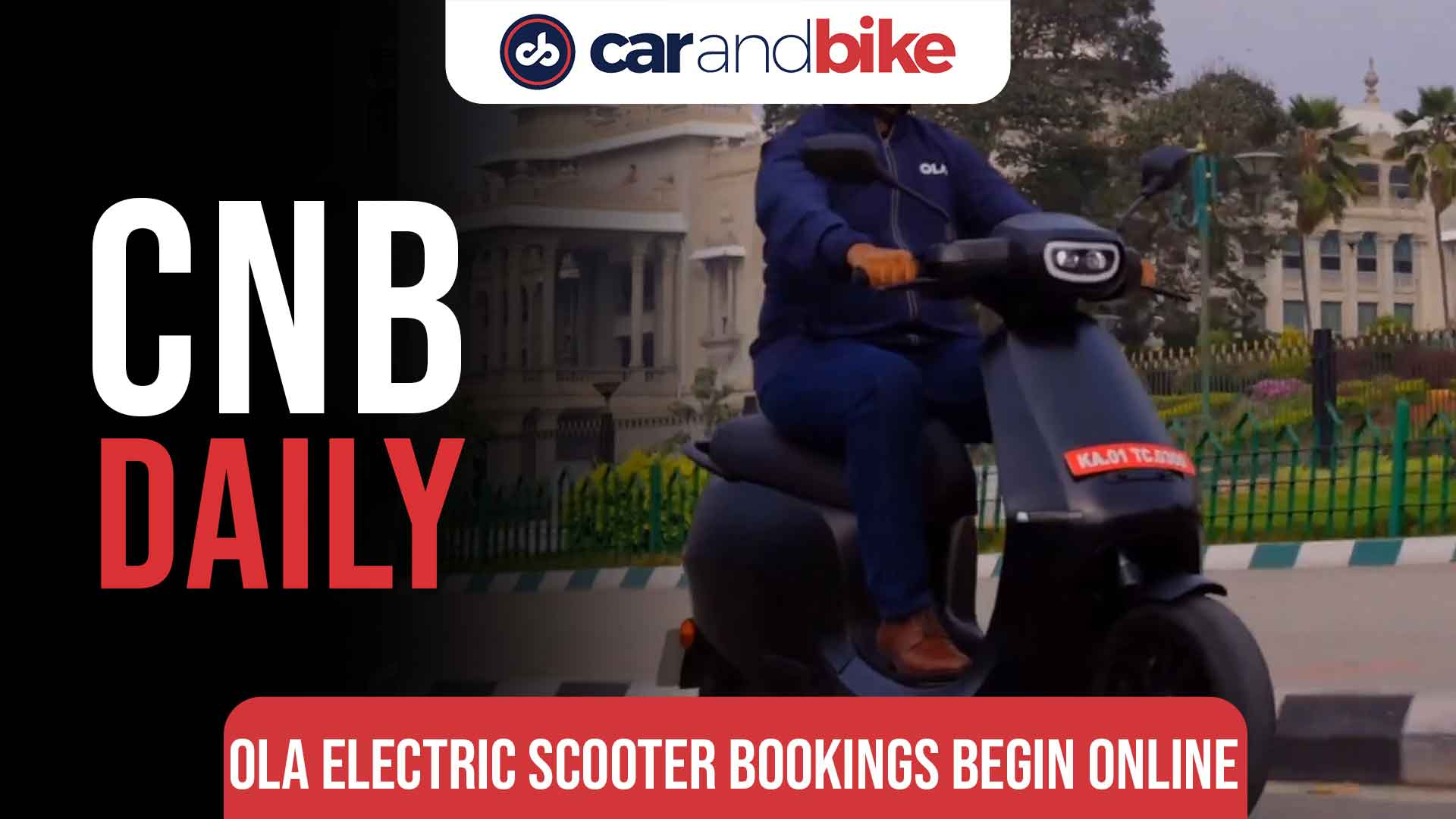 Ola Electric begins taking online bookings for its scooter