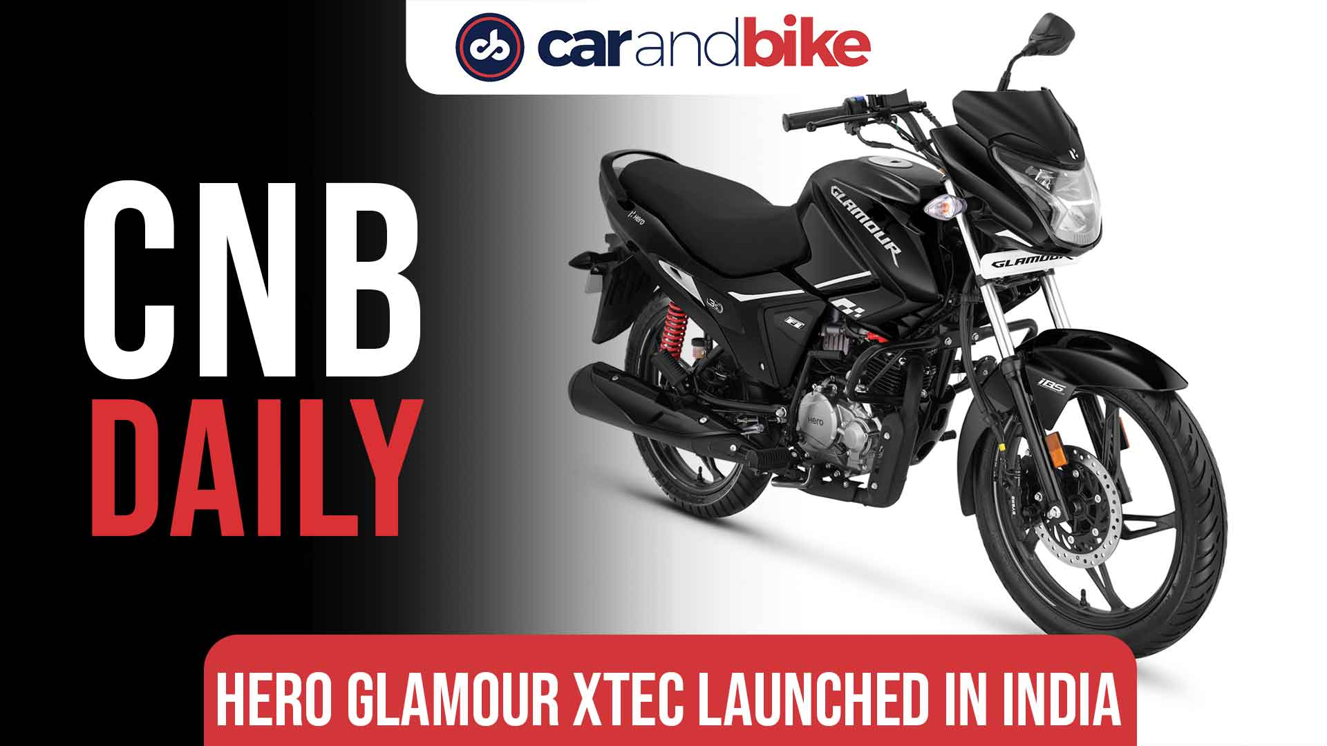 Hero Glamour XTEC launched in India