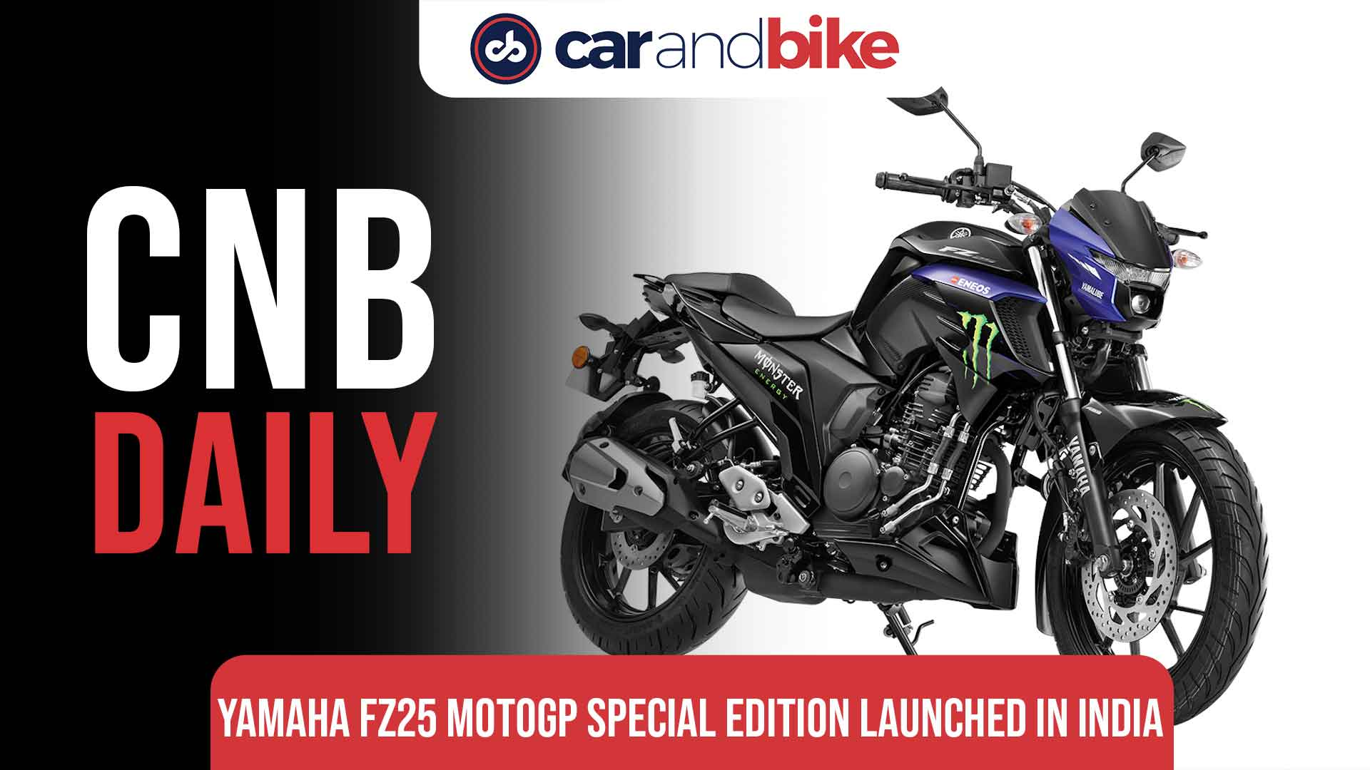 Yamaha FZ25 MotoGP edition launched in India