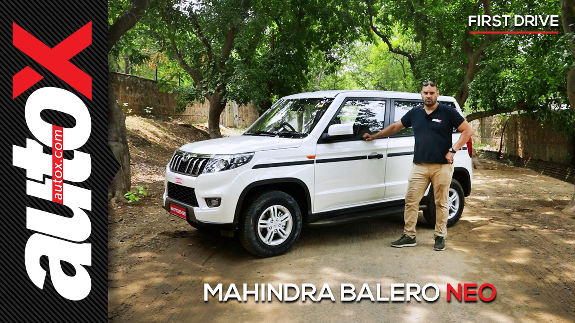 Mahindra Bolero Neo Review: Compact Adventure SUV | First Drive | autoX