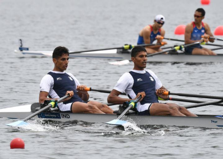 Tokyo Olympics: भारतीय रोइंग टीम का शानदार प्रदर्शन, लाइटवेट डबलस्कल्स के सेमीफाइनल में पहुंचे
