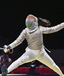 Tokyo Olympics 2020: तलवारबाजी में भारत की चुनौती खत्म, हार कर भी इतिहास बनाया भवानी ने