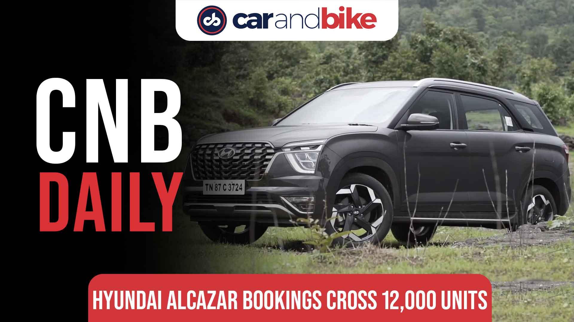 Hyundai Alcazar Bookings Cross 12,000 Mark