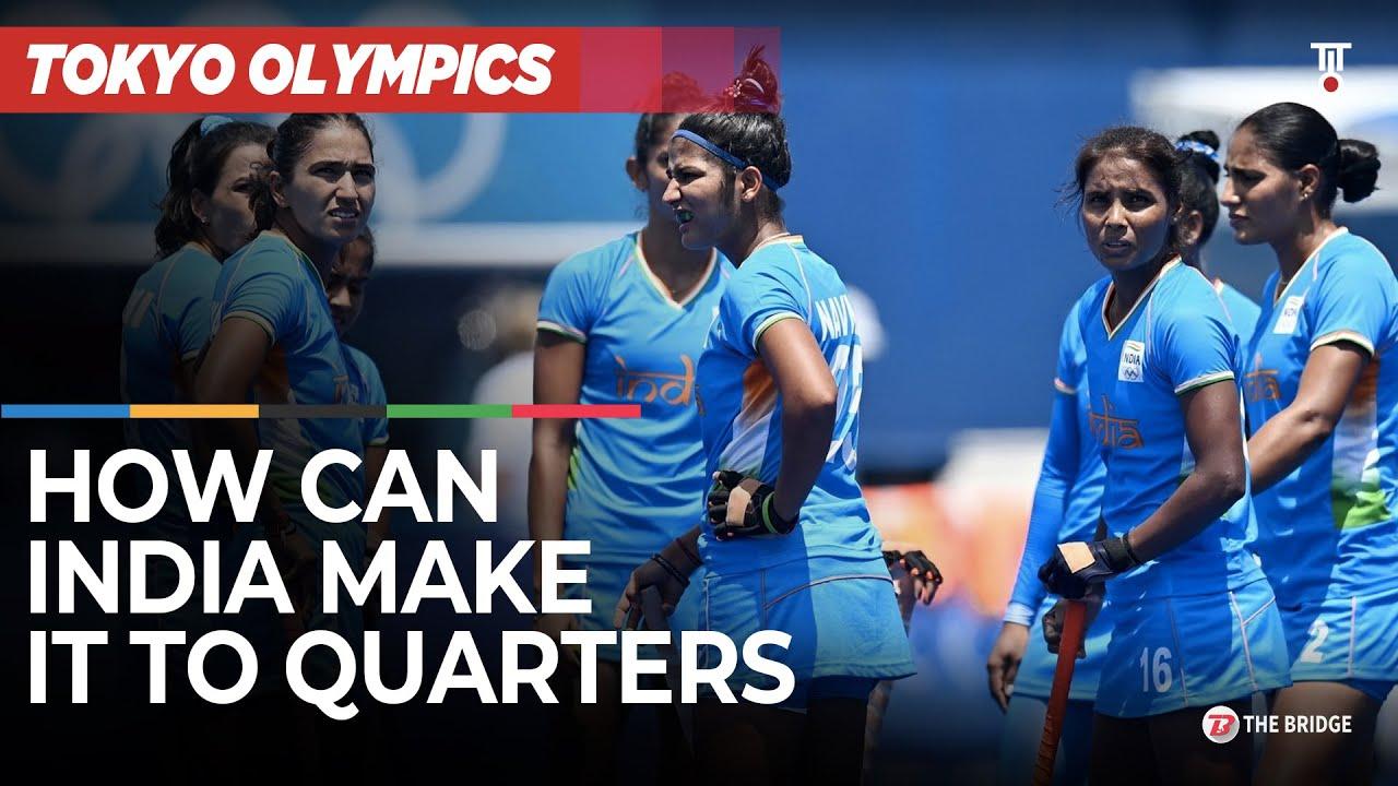 How Indian women's hockey team can enter Tokyo Olympics quarters | The Bridge