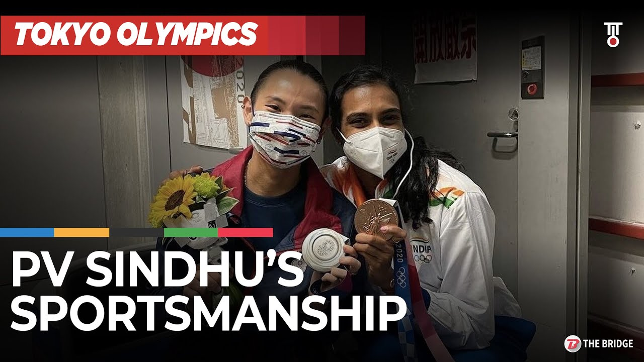 PV Sindhu shows true sportsmanship, consoles silver medallist Tai Tzu Ying | The Bridge