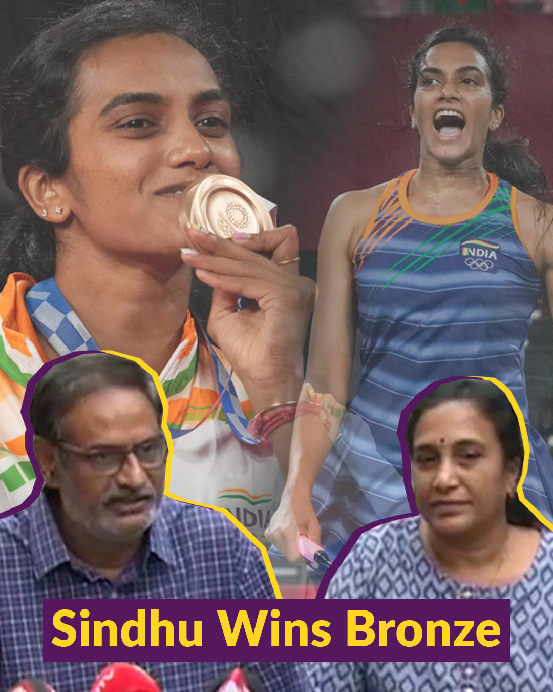 Whenever Sindhu went, she brought India a medal: PV Sindhu's father