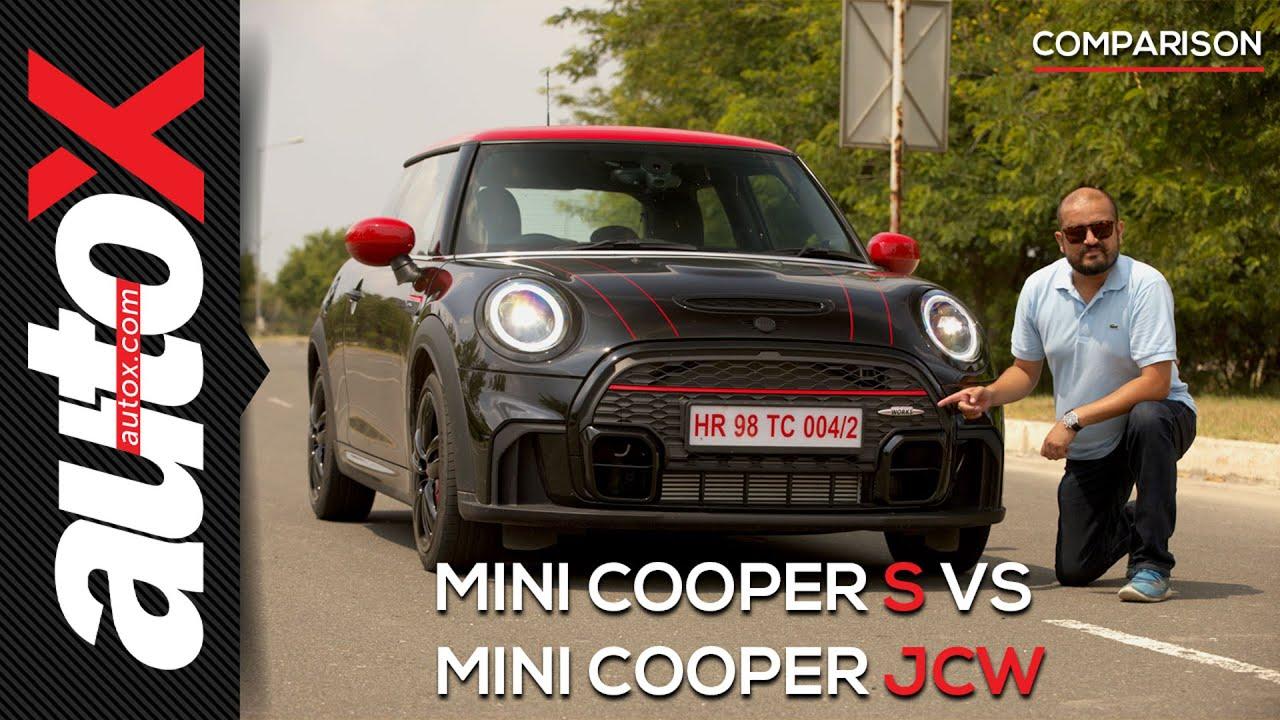 Mini Cooper JCW vs Cooper S: Which is the better hot hatch?   Comparison   autoX
