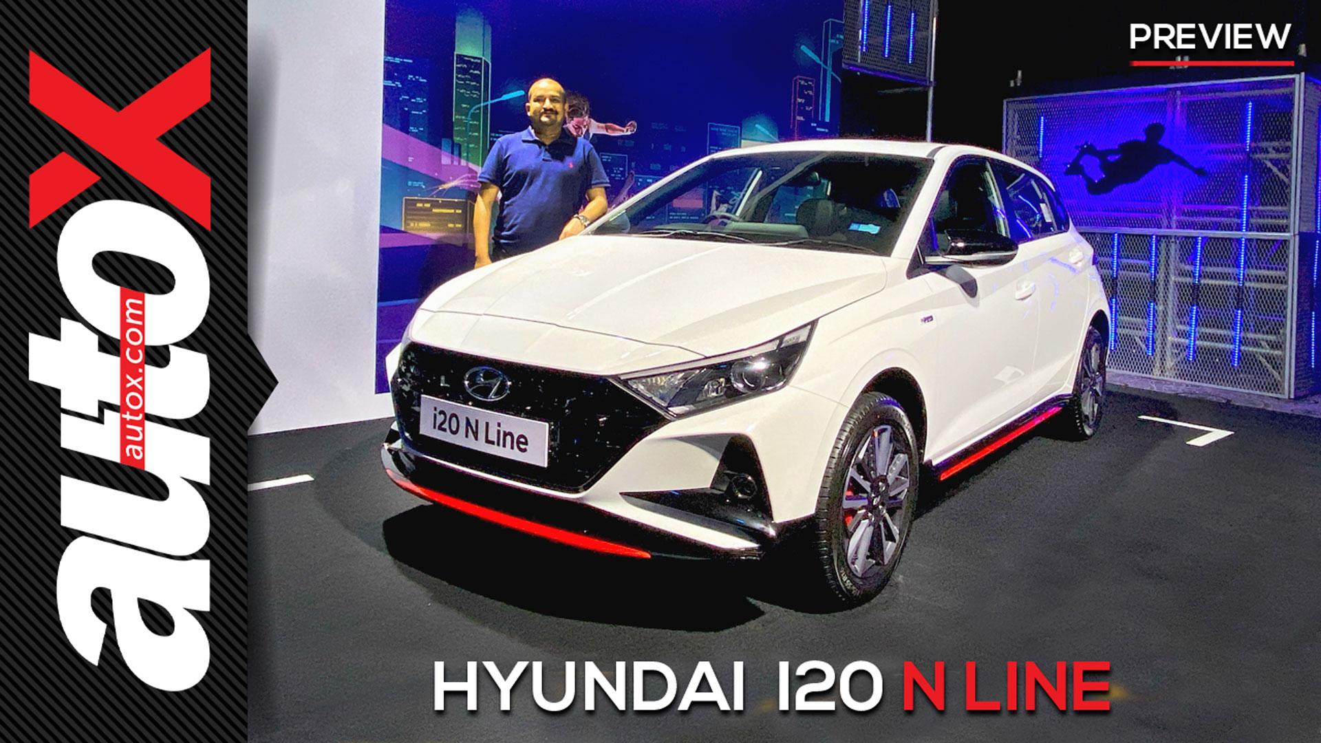Hyundai i20 N Line | The i20 gets a sporty avatar! | autoX