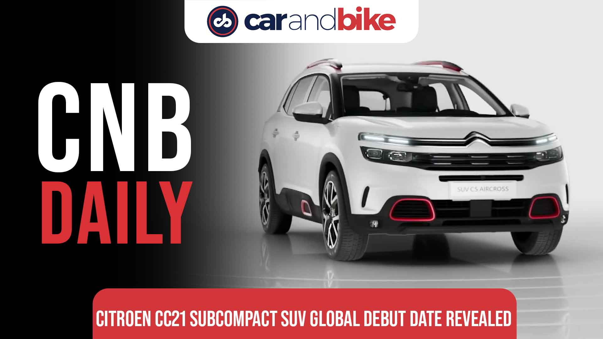 Citroen CC21 subcompact SUV global debut on September 16