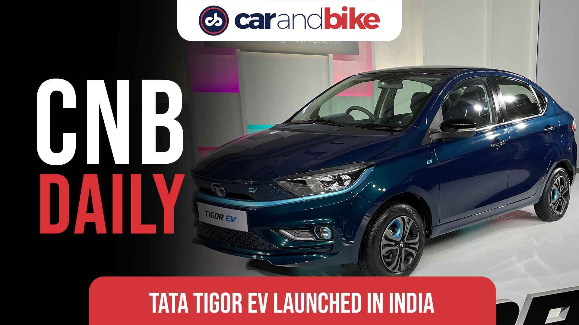Tata Tigor EV launched in India; Prices start at Rs. 11.99 lakh