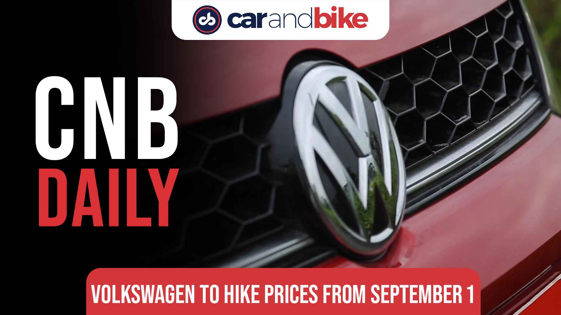 Volkswagen to hike prices from September 1, 2021