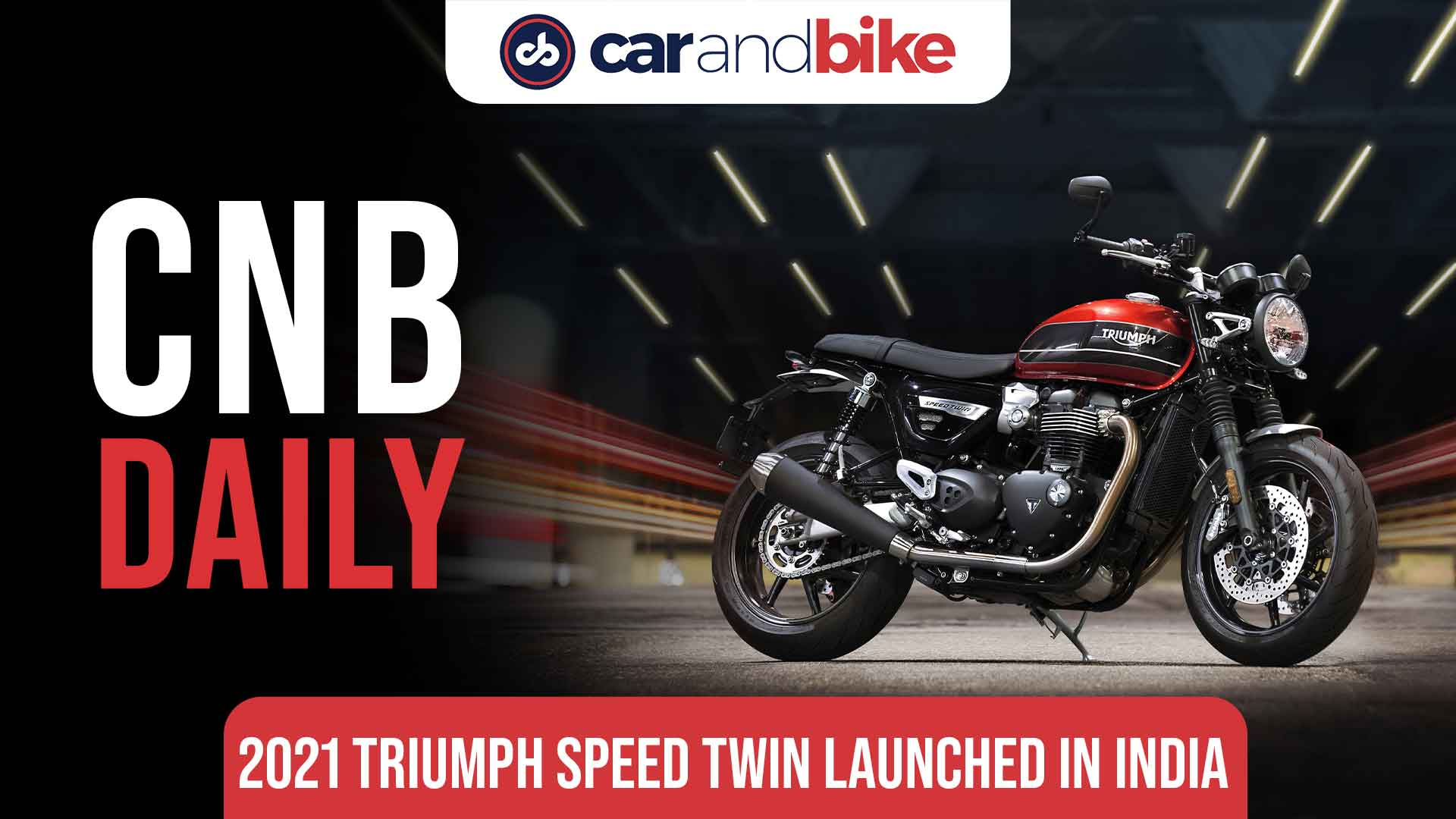 2021 Triumph Speed Twin launched in India; Priced at Rs. 10.99 lakh