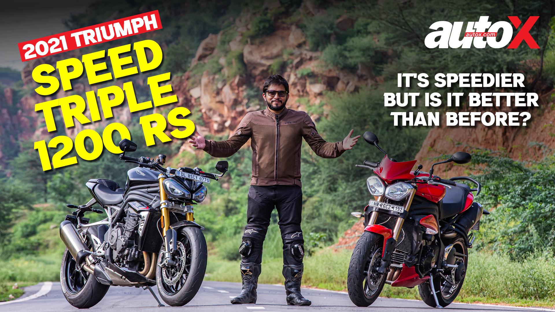 2021 Triumph Speed Triple 1200 RS: The Original Hooligan goes hyper! | Review | autoX