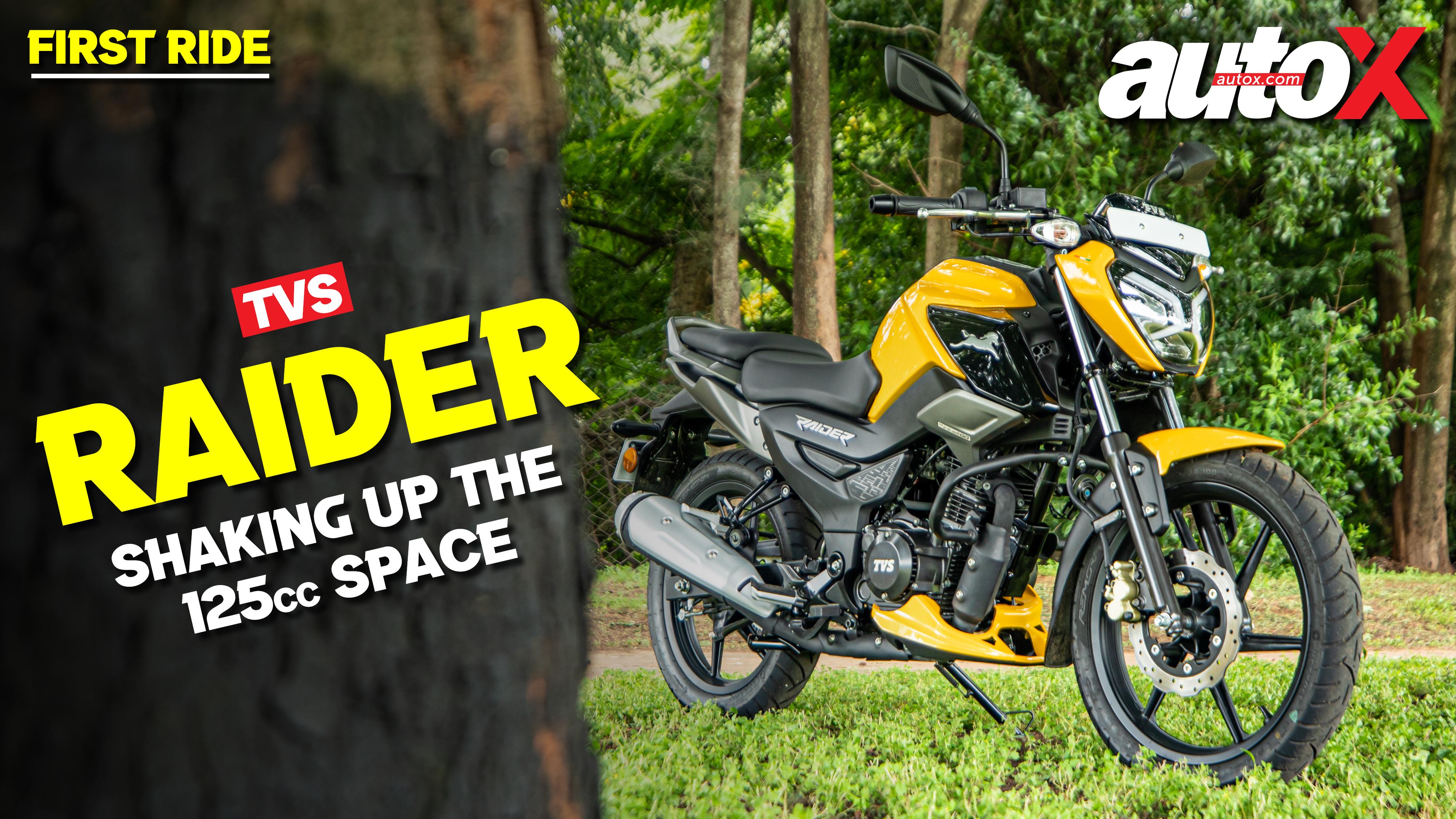 TVS Raider 125: Should its 125cc rivals beware?   Review   autoX