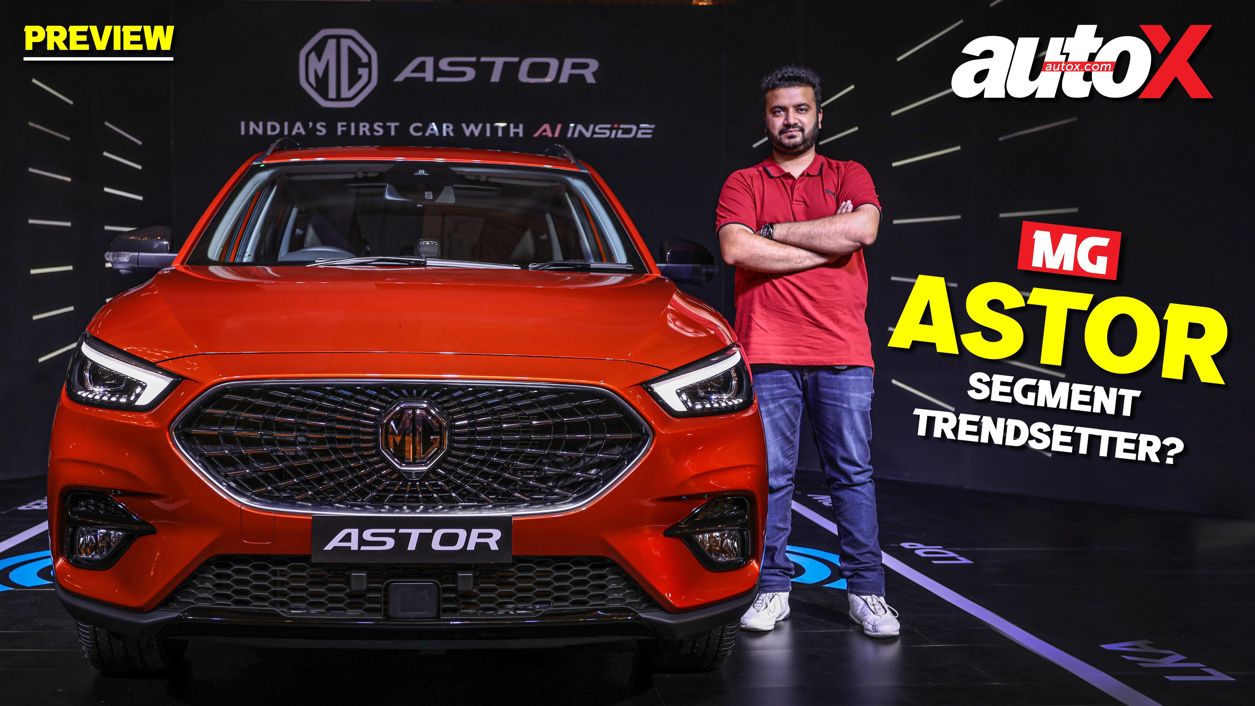 MG Astor: Better SUV than the Hyundai Creta & Kia Seltos? | Preview | autoX