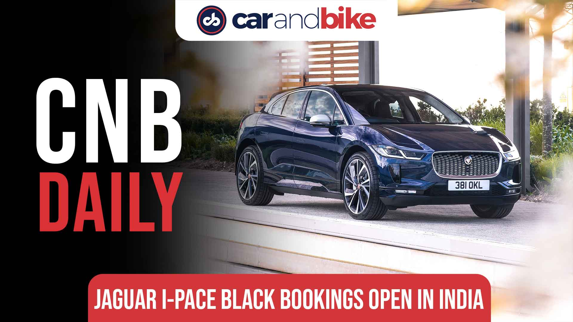 Jaguar I-Pace black bookings open in India