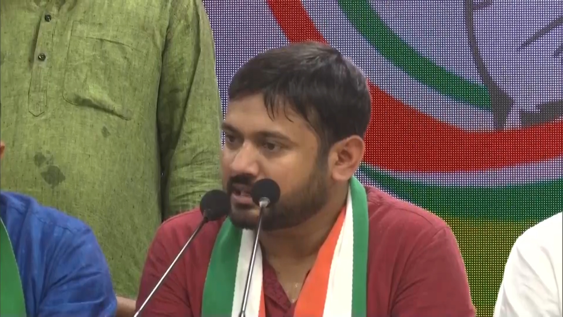 Watch: Kanhaiya stays fiery as he joins grand old Congress