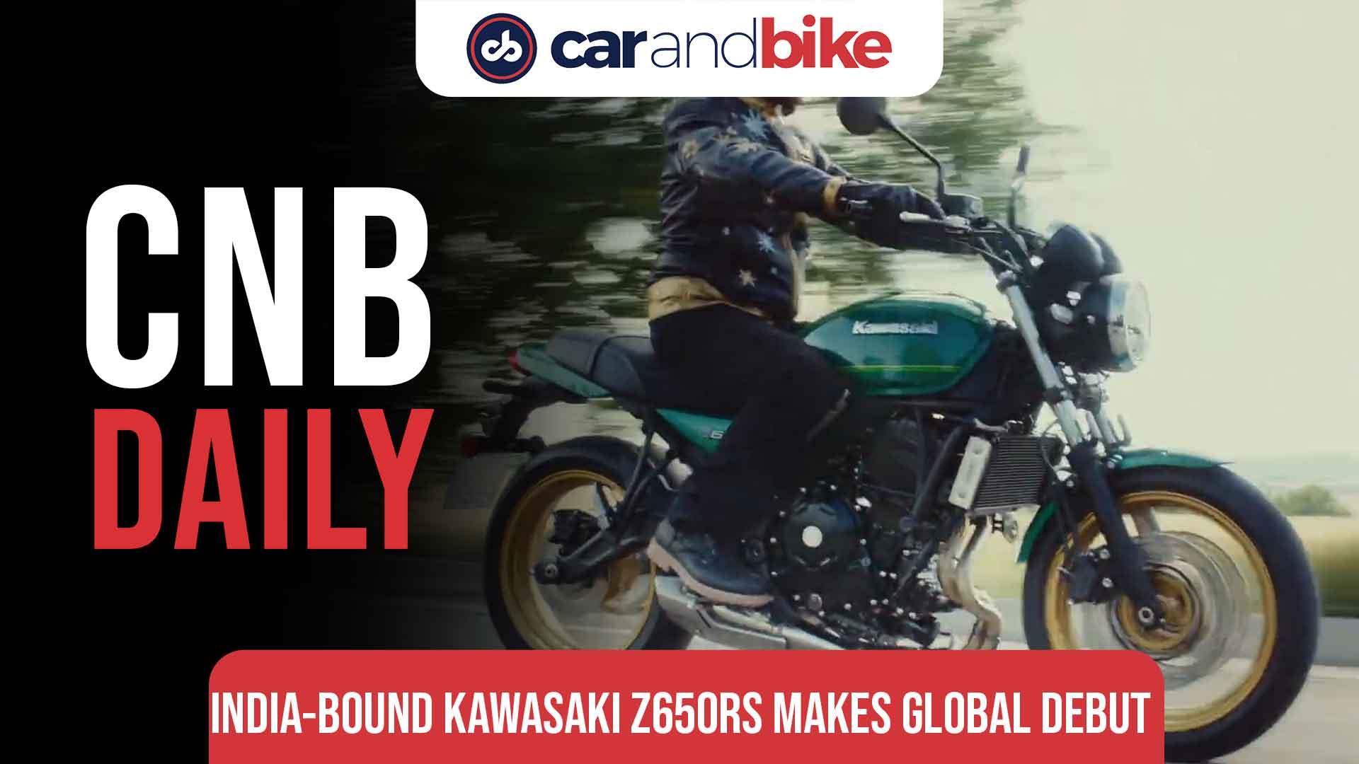 Kawasaki Z650RS makes global debut
