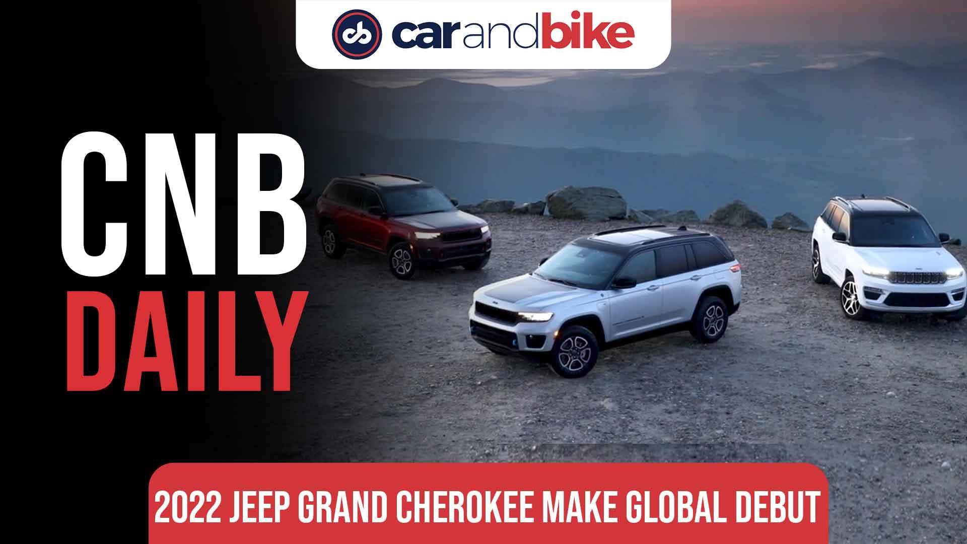 2022 Jeep Grand Cherokee makes global debut
