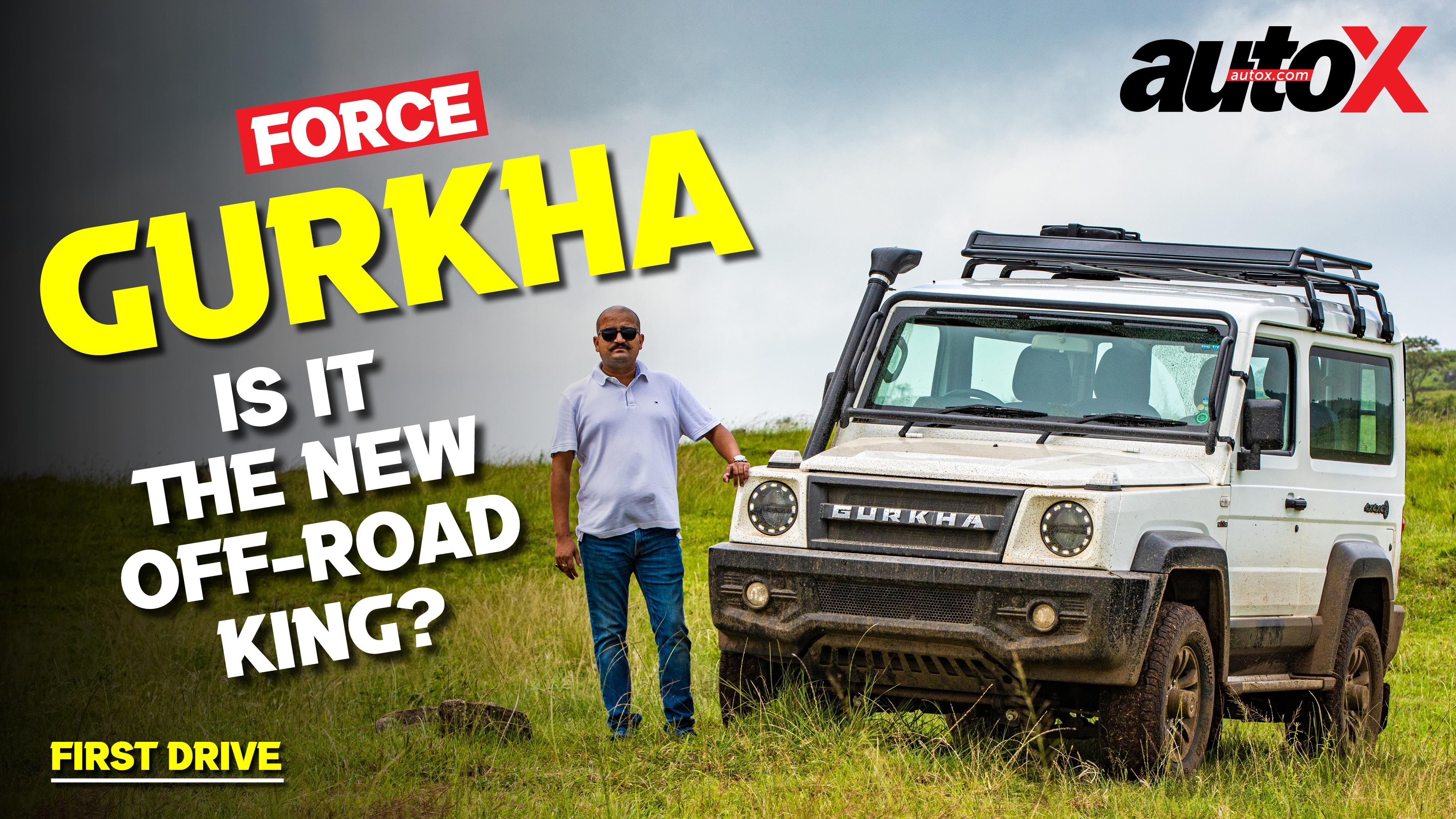 Force Gurkha | Is it the best off-roader you can buy? | autoX