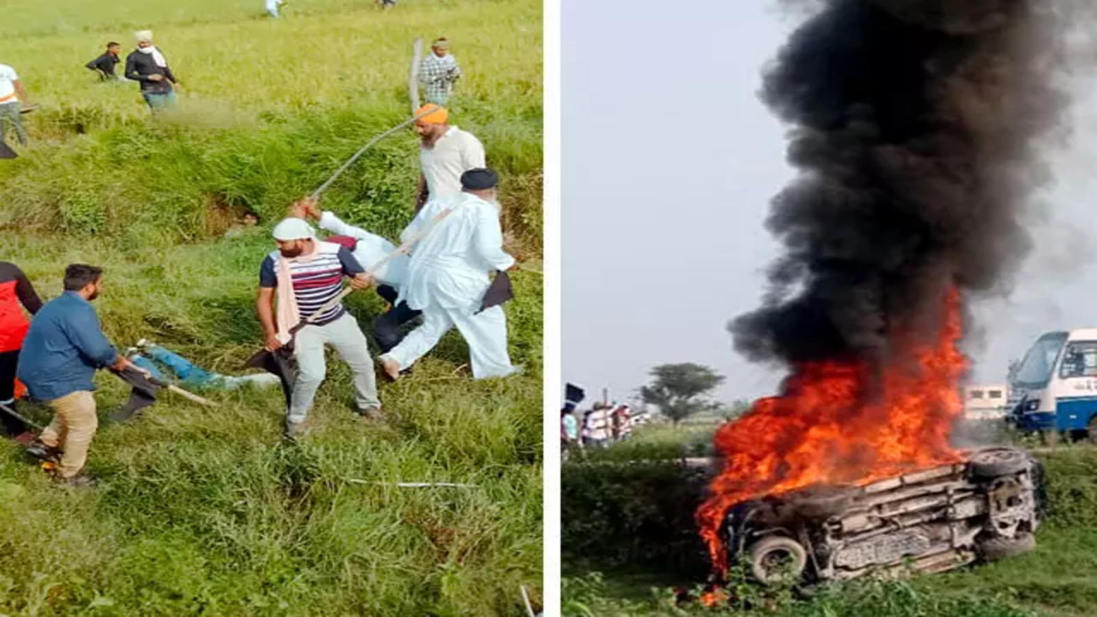 Lakhimpur Kheri violence: SC says not satisfied with UP govt action
