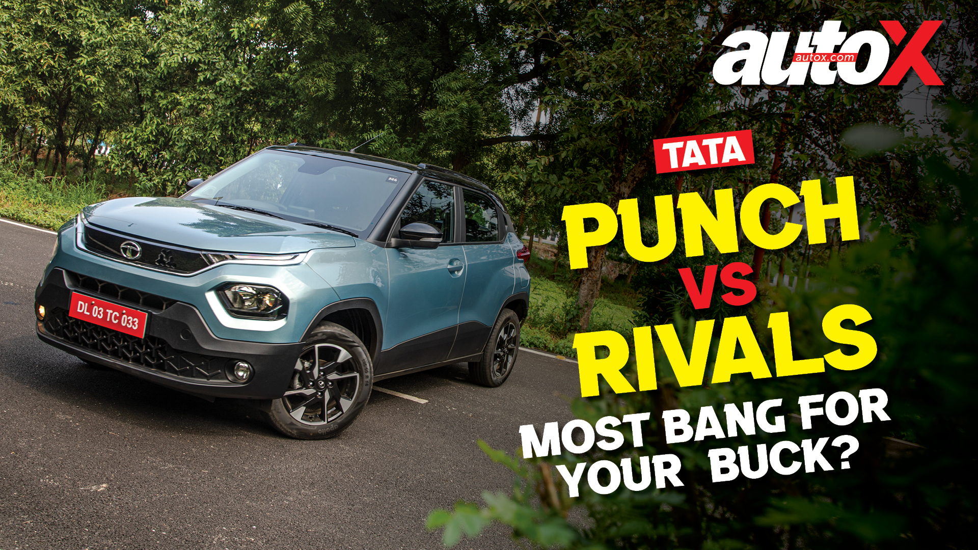 Tata Punch vs Rivals: Most bang for your buck? | Comparison | autoX