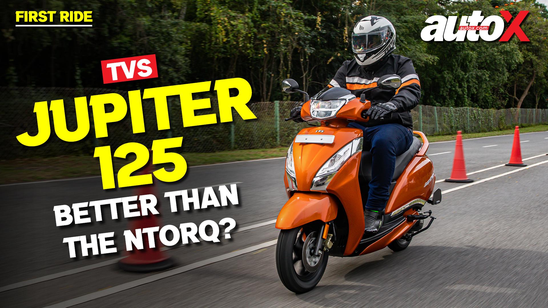 TVS Jupiter 125 Review – Better than the Ntorq? | First Ride | autoX