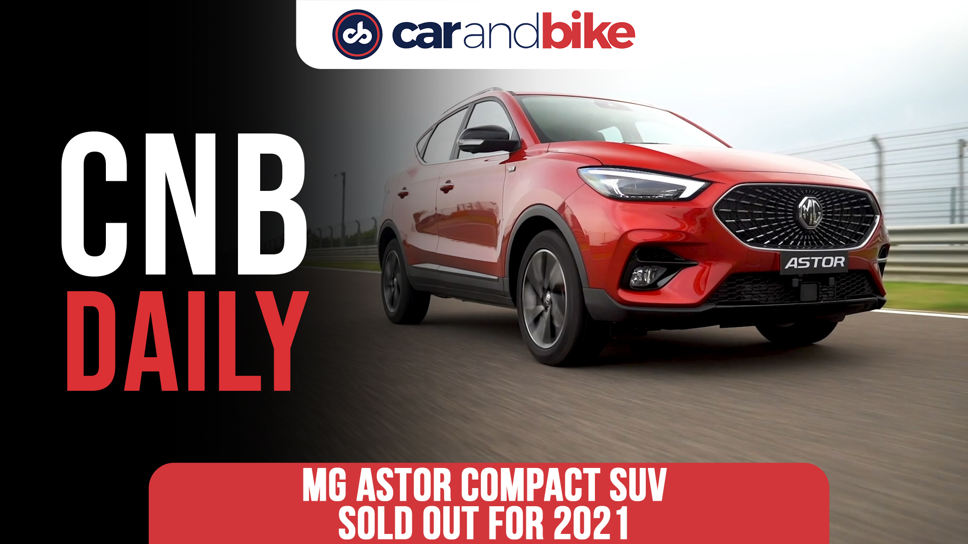 MG Astor Compact SUV Sold Out For 2021