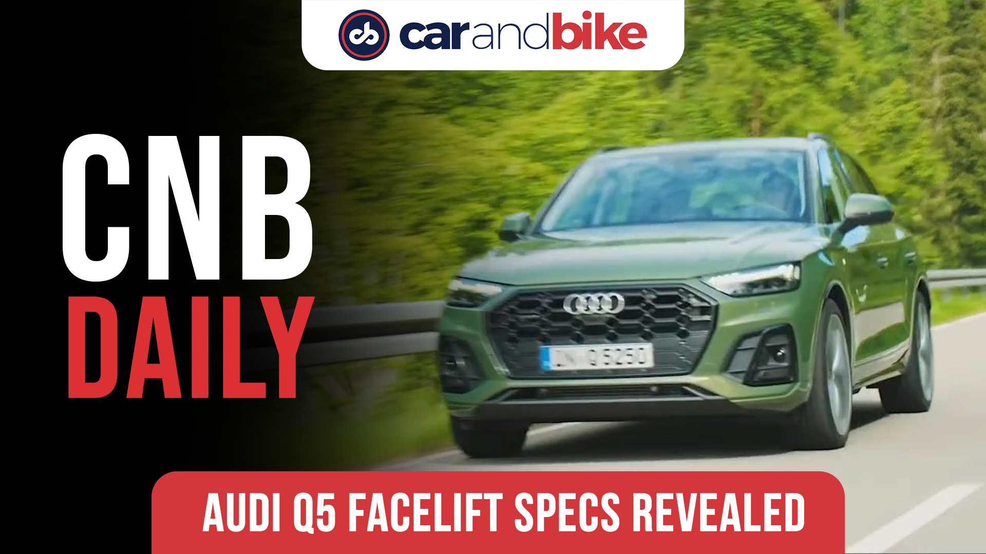 Audi Q5 Facelift India Specifications Revealed