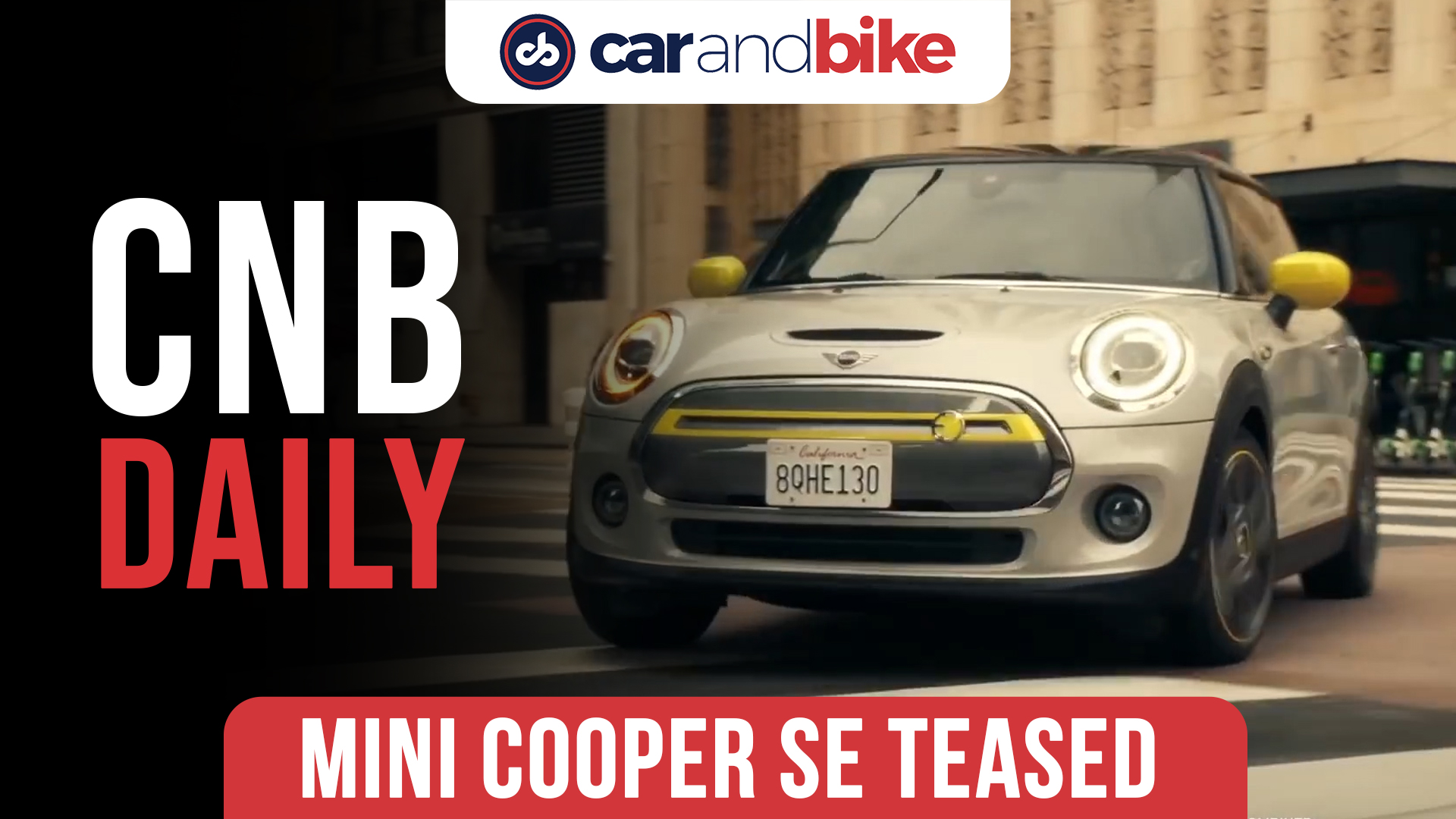 MINI Cooper SE teased for India; First all-electric hatchback