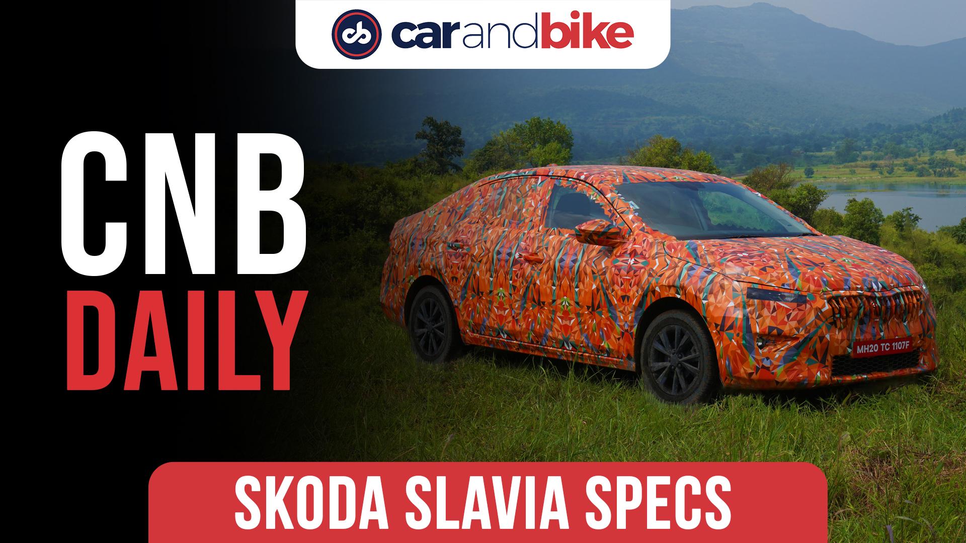 Skoda Slavia Compact Sedan specifications revealed