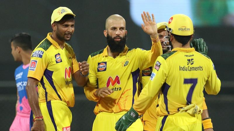 CSK draw Royal blood, thrash Rajasthan by 45 runs