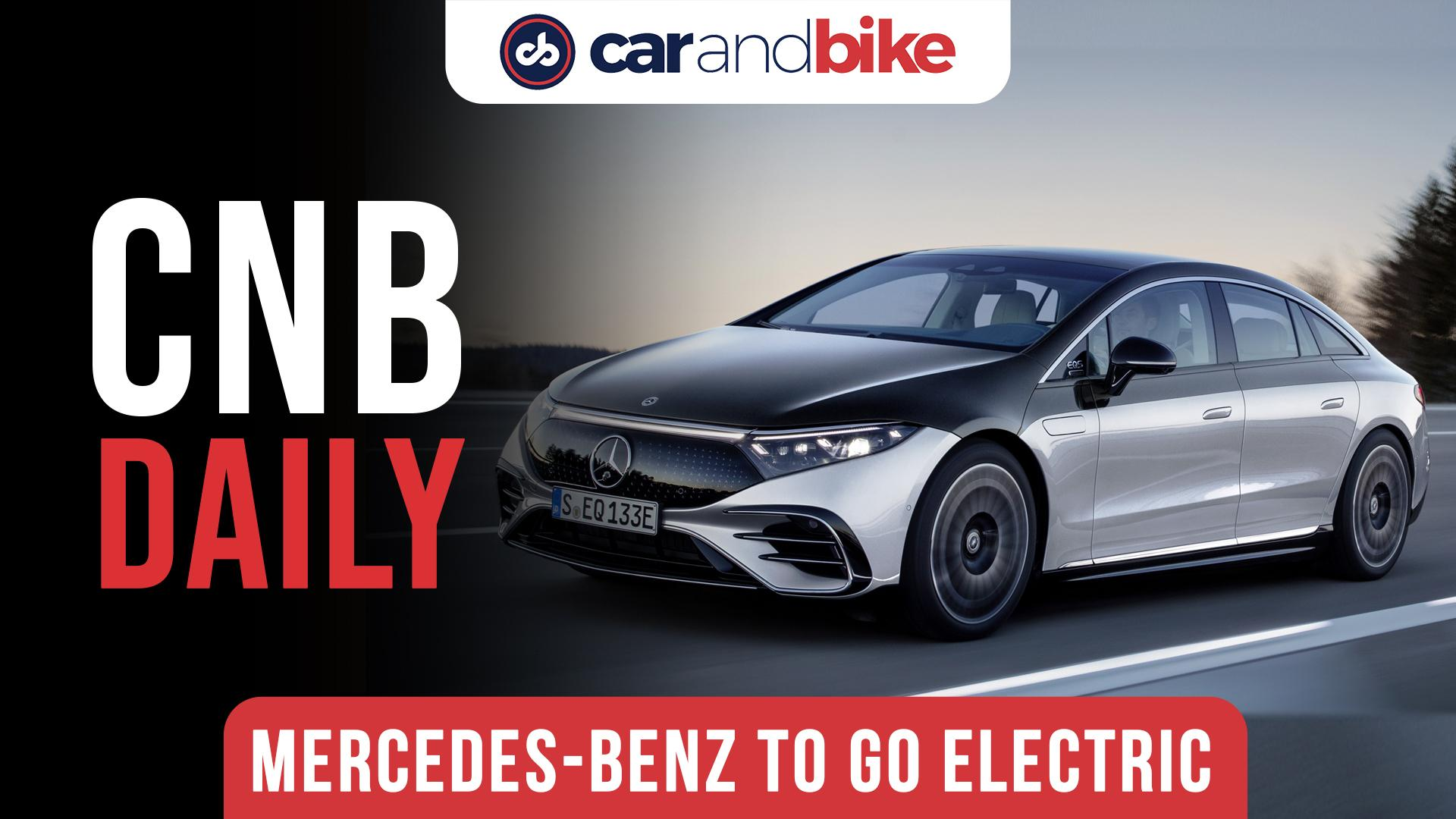 Mercedes-Benz To Go Fully Electric By 2030