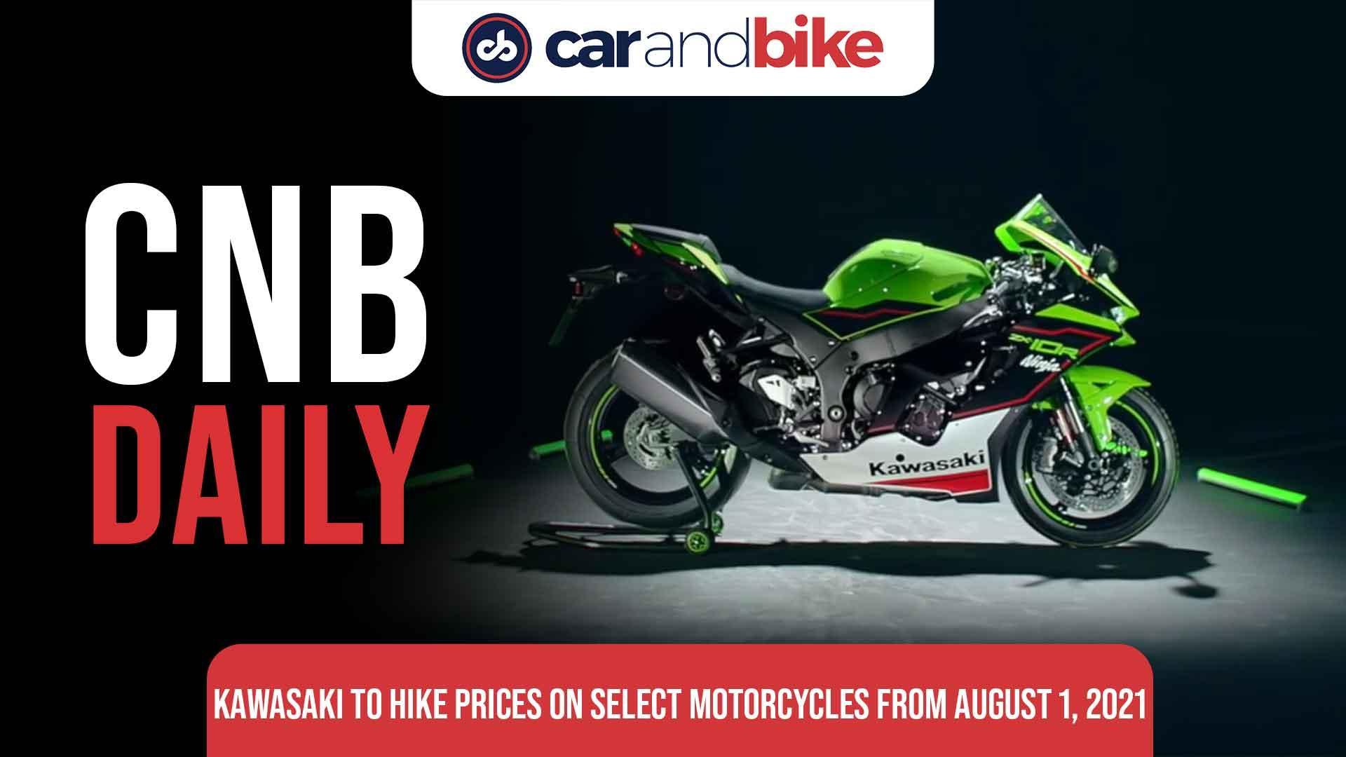 Kawasaki India To Hike Prices On Select Motorcycles