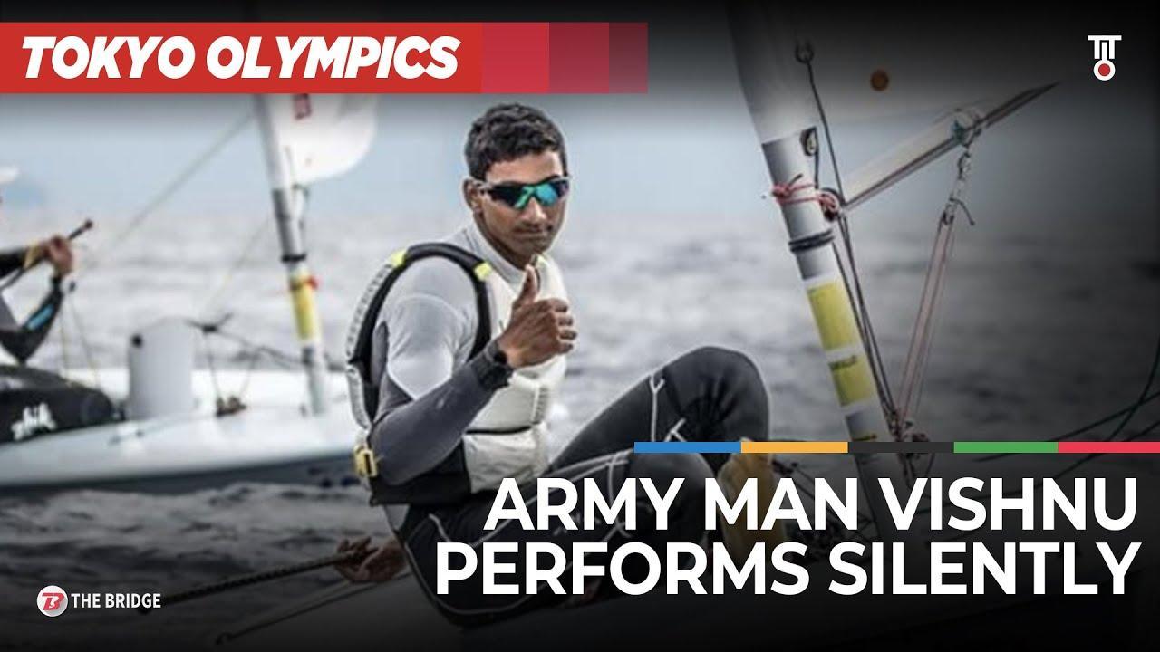 Meet Vishnu Saravanan, the young Army Sailor who created waves at Tokyo Olympics | The Bridge