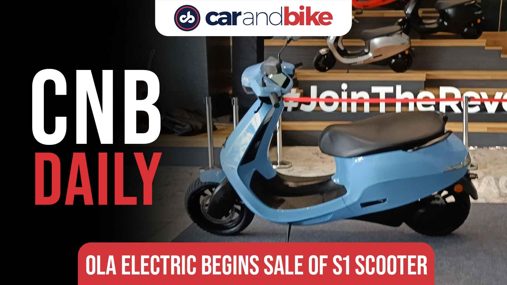 Ola Electric Scooter sales begin in India