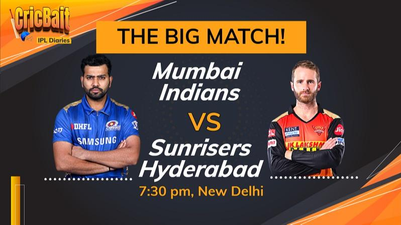 Sunrisers look to revive IPL campaign vs Mumbai Indians