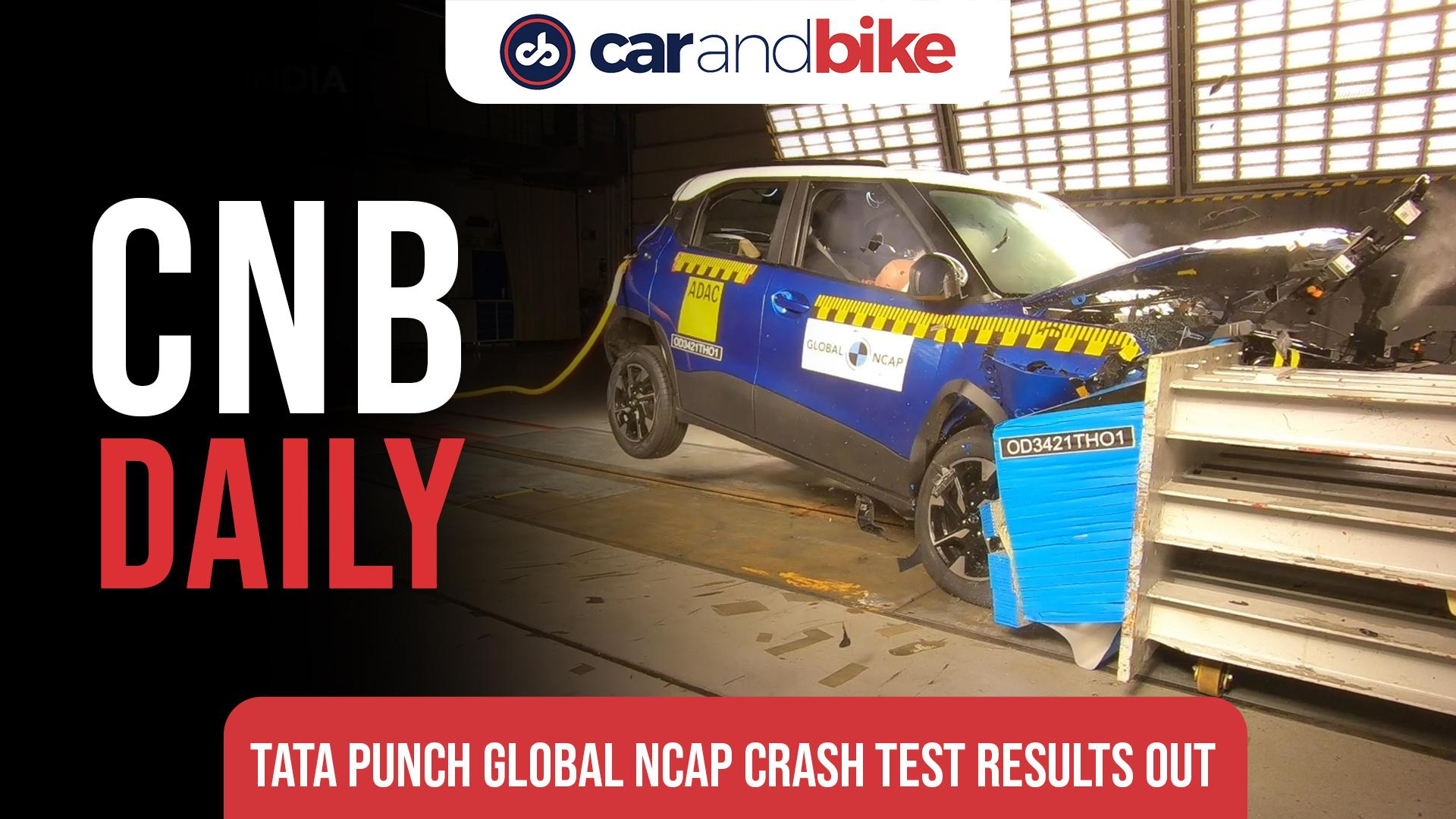Tata Punch scores 5 stars in global NCAP crash test results
