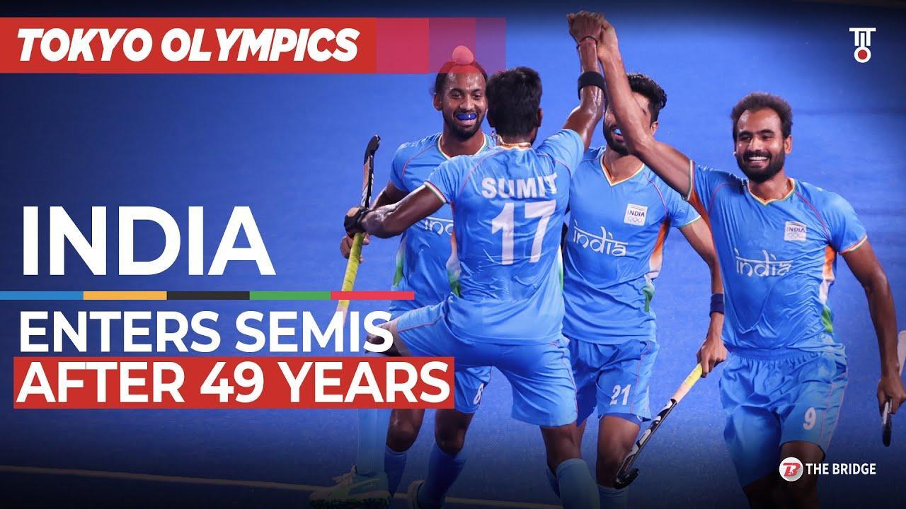 Indian Hockey team enters Tokyo Olympics semifinal, creates history | Watch Highlights | The Bridge