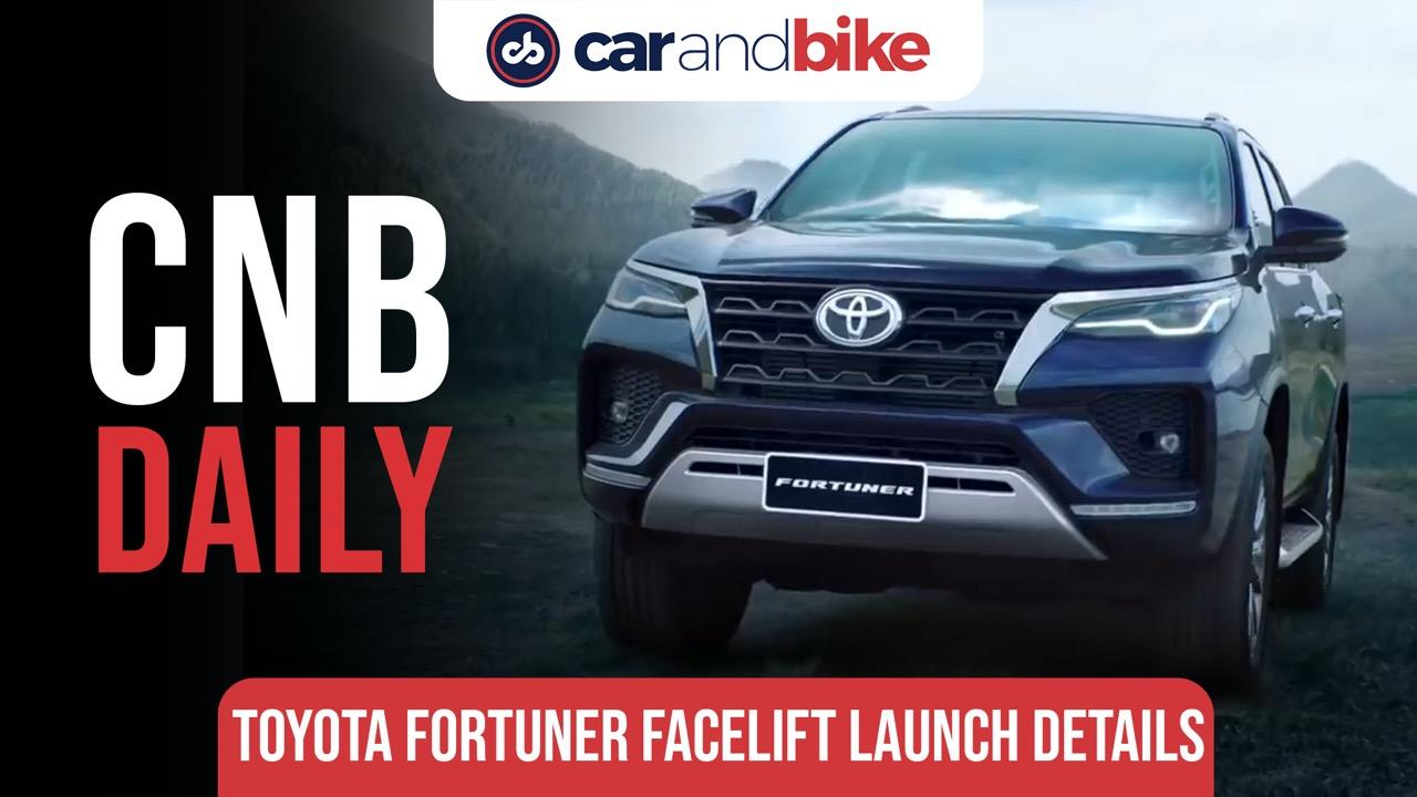 2021 Toyota Fortuner Facelift India Launch Confirmed