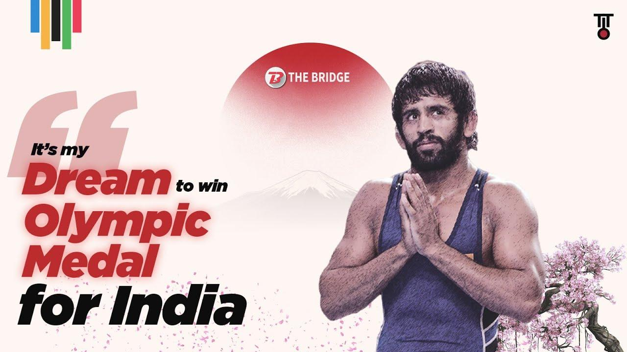 Bajrang Punia — In my head, every fight is my last fight... Olympic medal is my dream   The Bridge